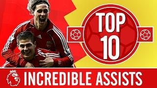 Top 10: The most incredible Premier League assists   Gerrard, Alonso, Coutinho