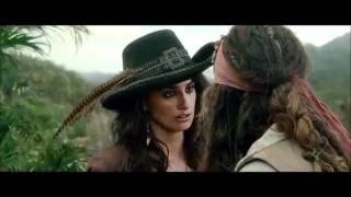 Pirates of the Caribbean 4 - Jack + Angelica - Hot