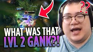 WHAT WAS THAT LEVEL 2 GANK?! +Game Crash in the worst Situation