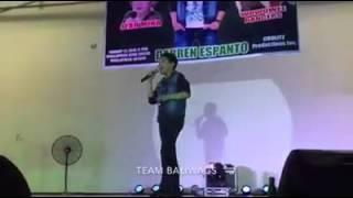 CHANDELIER- Darren Espanto Live at Dinalupihan, Bataan (01-27-2016)