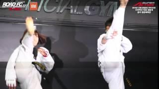 XIAOMI ROAD FC 027 IN CHINA TAEKWONDO BROTHER & SISTER