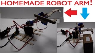 How To Make A Robot Arm Out Of Popsicle Sticks (Easy And Simple)