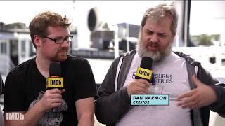 "Justin Roiland & Dan Harmon Explain Origin of ""Rick and Morty"" Catchphrase   IMDb EXCLUSIVE"