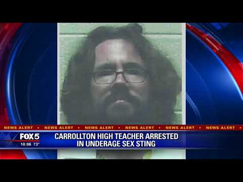 Xxx Mp4 Carrollton High Teacher Arrested In Underage Sex Sting 3gp Sex