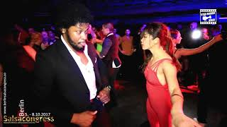 Terry SalsAlianza & Yu Yu - social dancing @ Berlin Salsa Congress 2017