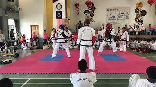 Tang Soo Do National 2018- Muzahid Vs Kho Zan Hong