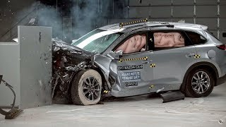 مازدا CX9 2017 تحصل على أفضل تقييم للحفاظ على السلامة