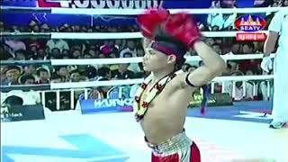 គូរដណ្ដើមខ្សែក្រវាត់វគ្គផ្ដាច់ព្រាត់ Meach Sokra vs Kengkat (Thai) Seatv Khmer boxing 02/12/2018