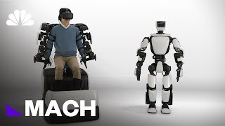 This Humanoid Robot Can Mimic Human Movement In Real Time   Mach   NBC News