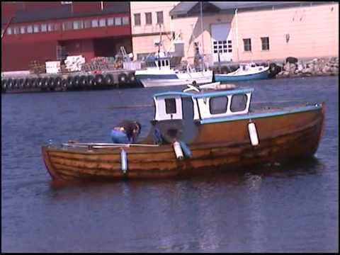 gamle båten min filmet 28 mai 2006 i sirevåg havn