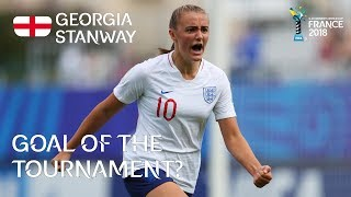 Georgia STANWAY - GOAL OF THE TOURNAMENT Nominee