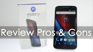 Moto G4 Plus (2016) Review with Pros & Cons
