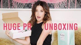 Huge PR Unboxing | Ashley Tisdale