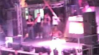 Dizzee Rascal - Ibiza Rocks 11/08/09 - Just a rascal