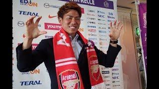 ARSENAL FC : TAKUMA ASANO PROGRESS REPORT