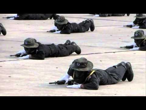 การแสดงบุคคลทำการรบทหารพรานนาวิกโยธิน
