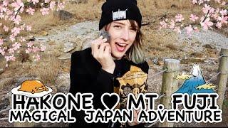 Magical Japan Adventure: Mount Fuji & Hakone ♡ 初富士山からの初箱根!
