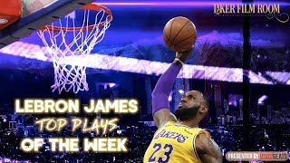 LeBron James Top 5 Plays of the Week | Lakers Highlights, 2/15/19