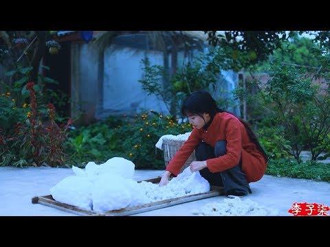 (蚕丝被)Ancient Oriental methods of the Sericulture the solution to the cold Liziqi Channel