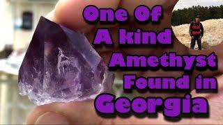 Mining America - Ep 4 - JXR Amethyst Mine - Georgia - 4/16/16 - Amazing Gem found!