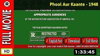 Watch Online: Phool Aur Kaante (1948)