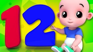 Junior Squad - One Two Buckle My Shoe | Nursery Rhymes | Song For Kids and Babies