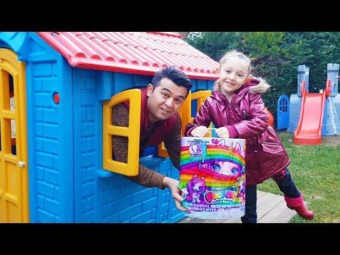 Öykü Playing Poopsie Slime Unicorn FULL BOX Opening Funny Oyuncak Avı