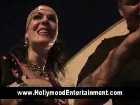 Chyna & Pornstar Tabitha Stevens Backstage At Pro Wrestling Show