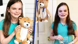 12-Year-Old Invents Medi Teddy to Make IV Bags Less Scary