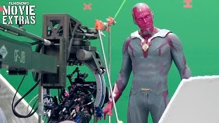 Captain America: Civil War 'Vision, Scarlet Witch & Bucky' Featurette [Blu-Ray/DVD 2016]