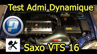Test admission dynamique - Saxo VTS 16