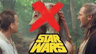Removing Jar Jar Binks from Star Wars Episode I: The Phantom Menace