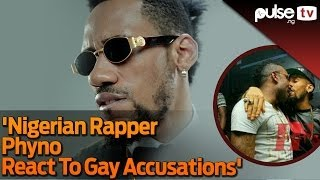 Nigerian Rapper Phyno Caught in a Gay Kiss