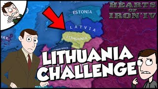 Lithuania Denies Germany Challenge Hearts of Iron 4 HOI4 Road to 56 Mod