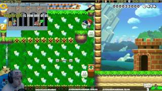Mario Maker One Screen Puzzle Race-Victory