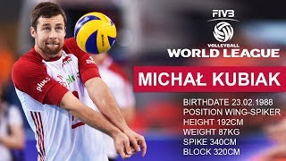TOP 10 Crazy Volleyball Actions by Michał Kubiak | FIVB Volleyball World League 2017