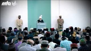 Ahmadiyya Nazam Maula Ne Sajaya Hai Yeh Darbare Khilafat