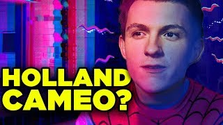 SPIDERVERSE Sequel: Tom Holland Spiderman Cameo? | Rogue Theory