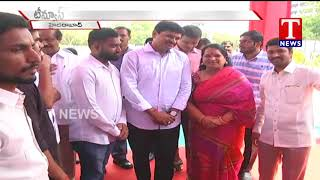 Live Report | MP Santhosh Kumar Attend Apex Golden Education Fair 2018 | Hyderabad | T News live