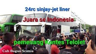 bergoyang SinarJaya pemenang kontes Telolet se Indonesia