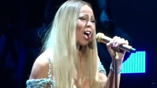 Mariah Carey - Against all odds @ Stockholm 2/4/2016