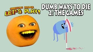 Annoying Orange - Dumb Ways to Die 2: The Games