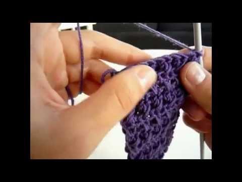 Banda para el Pelo o Diadema a Crochet Paso a Paso