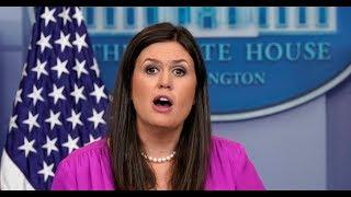 BREAKING: Press Secretary Sarah Huckabee Sanders URGENT White House Press Briefing on Steve Bannon