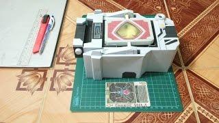 Kamen rider Blade Belt Trial Papercraft