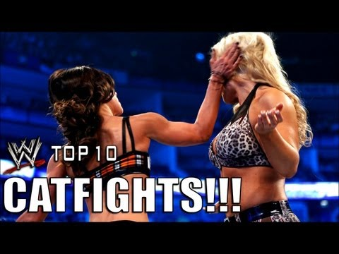 WWE Top 10 Catastrophic catfights