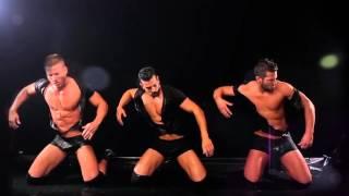Hot Men Dance - in the water