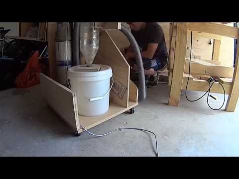 Cyclone Dust Separator From Soda Bottle