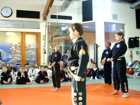 Aiyanna's 3rd Brown Belt Test Kata