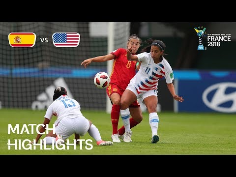 Xxx Mp4 Spain V USA FIFA U 20 Women's World Cup France 2018 Match 21 3gp Sex